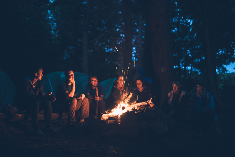 Creating Community and Collaboratively Solving Challenges: A Look Back at Our First Campfire Chat | The Sterling Woods Group