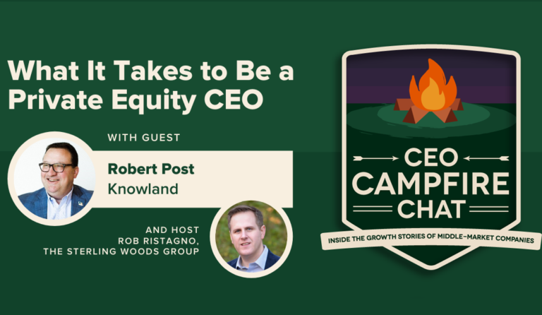 What It Takes to Be a Private Equity CEO