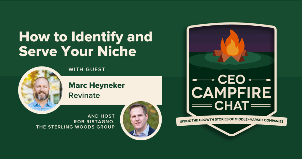 How to Identify and Serve Your Niche | Marc Heyneker | CEO Campfire Chat | The Sterling Woods Group
