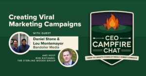 Creating Viral Marketing Campaigns | Daniel Stone and Lou Montemayor | CEO Campfire Chat | The Sterling Woods Group